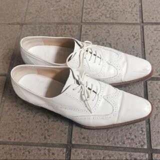 インディビジュアル(INDIVIDUAL)のindividual 本革 型押し ローファー おじ靴 インディビジュアル(ローファー/革靴)