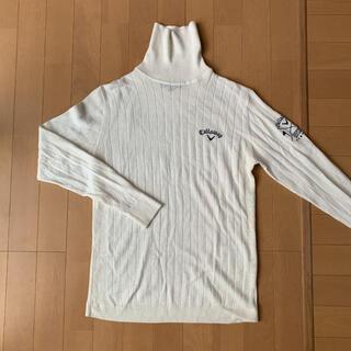 キャロウェイ(Callaway)のキャロウェイタートルセーター昨年3度着用身幅45着丈65センチ(ウエア)