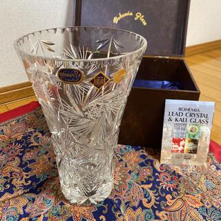 ボヘミア クリスタル(BOHEMIA Cristal)のボヘミアガラス 花瓶(花瓶)