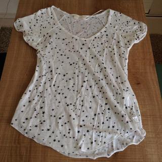 ザラ(ZARA)のZARA◎星柄Tシャツ(Tシャツ(半袖/袖なし))