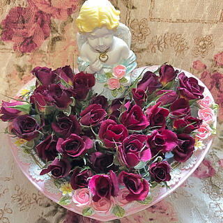 ミニ薔薇 ドライフラワー★20輪セット+おまけ2輪付き★花材 素材★ハーバリウム(ドライフラワー)