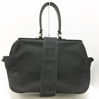 ヨウジヤマモト(Yohji Yamamoto)のヨウジヤマモト ハンドバッグ - 黒(ハンドバッグ)