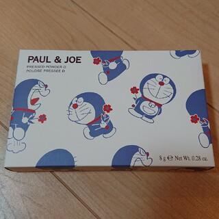 ポールアンドジョー(PAUL & JOE)の未使用品❗ポール&ジョー ドラえもんコラボ フェイスパウダー(フェイスパウダー)