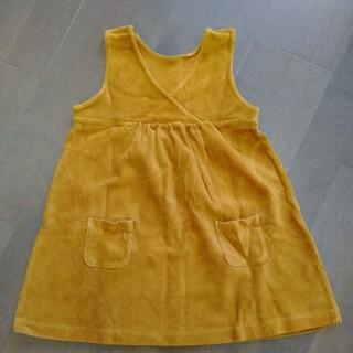 ユニクロ(UNIQLO)の子供服(100cm)冬用のワンピース(ワンピース)
