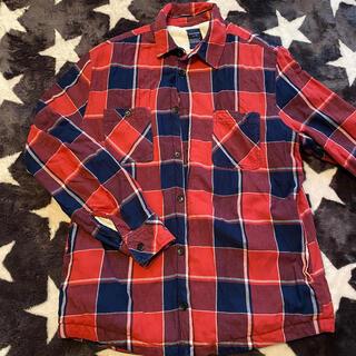 バックナンバー(BACK NUMBER)のチェックネルシャツ L(シャツ)