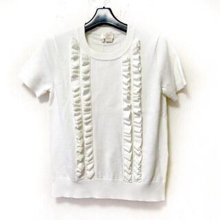 ケイトスペードニューヨーク(kate spade new york)のケイトスペード 半袖セーター サイズS(ニット/セーター)