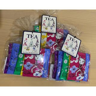 宝塚大劇場限定カレルチャペック紅茶5P 白ネコ×3セット(茶)