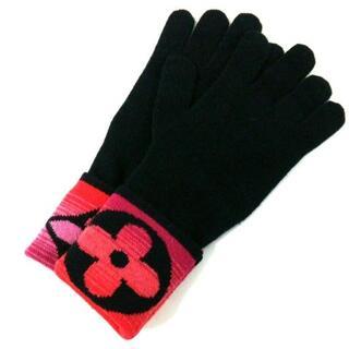 ルイヴィトン(LOUIS VUITTON)のルイヴィトン 手袋 レディース美品  M73048(手袋)
