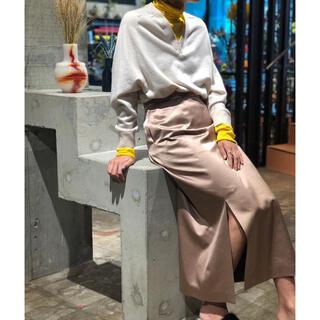 エディットフォールル(EDIT.FOR LULU)の6(ROKU)   購入 SATIN SKIRT/サテンスカート(ロングスカート)