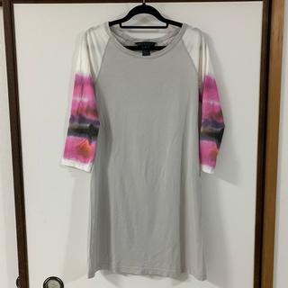 マークバイマークジェイコブス(MARC BY MARC JACOBS)のMARC BY MARC JACOBS Tシャツワンピ マーク(Tシャツ(長袖/七分))