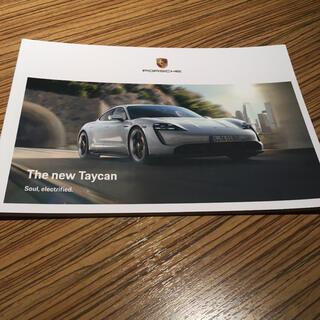 ポルシェ(Porsche)のポルシェ カタログ TAYCAN 車(カタログ/マニュアル)