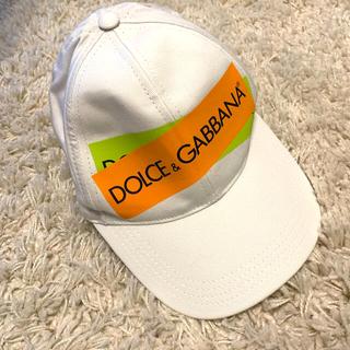 ドルチェアンドガッバーナ(DOLCE&GABBANA)の【未使用/値下げ】DOLCE & GABBANA キャップ(キャップ)