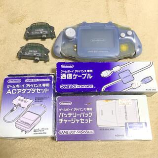 ゲームボーイアドバンス(ゲームボーイアドバンス)のレトロゲーム 任天堂ゲームボーイアドバンス本体(携帯用ゲーム機本体)