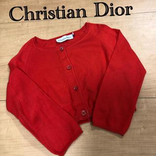 クリスチャンディオール(Christian Dior)のChristian Dior カーディガン キッズ 100㎝(カーディガン)