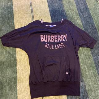 バーバリーブルーレーベル(BURBERRY BLUE LABEL)のバーバーリートレーナー(トレーナー/スウェット)
