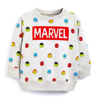 ネクスト(NEXT)のMarvel® ジャージー クルーネックセーター (3 か月~8 歳)(ニット/セーター)