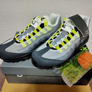 ナイキ(NIKE)の【27cm/送料込】ナイキ エアマックス 95 OG Neon Yellow(スニーカー)