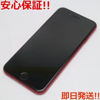 アイフォーン(iPhone)の新品同様 SIMフリー iPhone SE 第2世代 128GB レッド (スマートフォン本体)