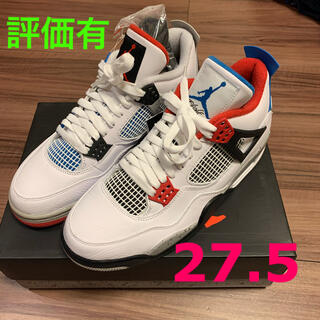 ナイキ(NIKE)のNIKE AIR JORDAN 4 RETRO SE WHAT THE 27.5(スニーカー)