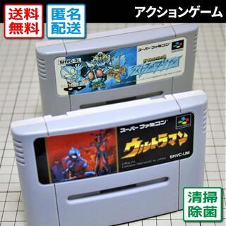スーパーファミコン(スーパーファミコン)のウルトラマン/ザ・グレイトバトルII ラストファイターツイン(SFC)(家庭用ゲームソフト)