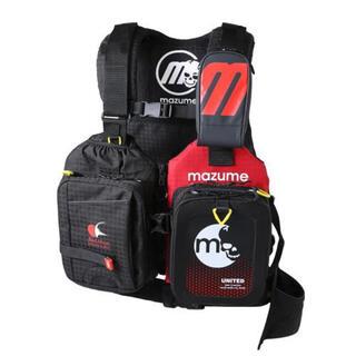 mazume レッドムーンライフジャケット VIII ブラック MZLJ-401(ウエア)