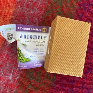 オーロメア(auromere)のオーロメア ラベンダーニームソープ(ボディソープ/石鹸)