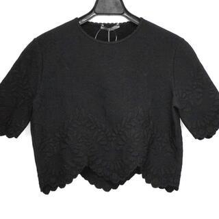 アレキサンダーマックイーン(Alexander McQueen)のアレキサンダーマックイーン 半袖セーター(ニット/セーター)