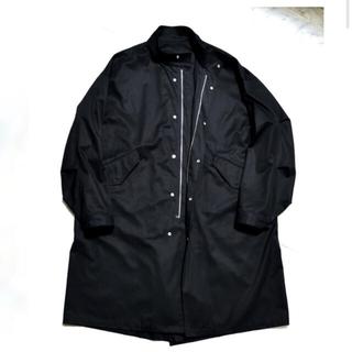 サンシー(SUNSEA)のshinya MOTOKO-65 black(ミリタリージャケット)