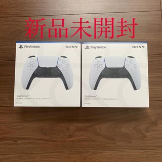 プレイステーション(PlayStation)のps5 コントローラー2台新品(その他)