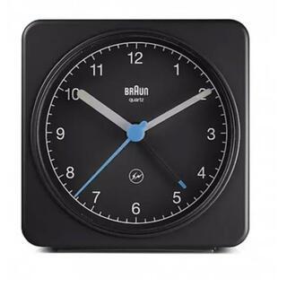 フラグメント(FRAGMENT)の新品 Braun Fragment Analog Alarm Clock 黒 (置時計)