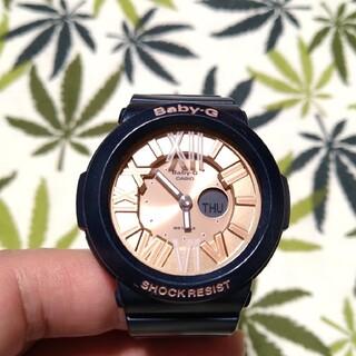 ベビージー(Baby-G)のCASIO Baby-G bga-161 ジーショック モスグリーン(腕時計)