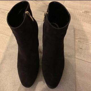 セルジオロッシ 美品 36サイズ スエード ショートブーツ(ブーツ)