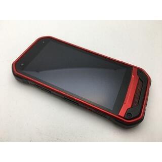 キョウセラ(京セラ)のSIMフリー良品au京セラ TORQUE G03 KYV41 レッド 400(スマートフォン本体)