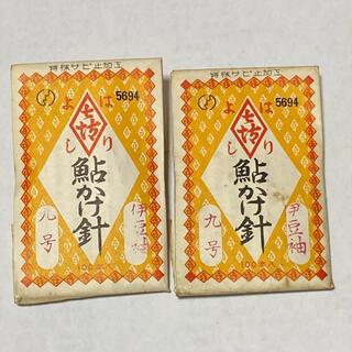 はりよし製  鮎かけ針 伊豆袖9号 2袋セット (釣り糸/ライン)