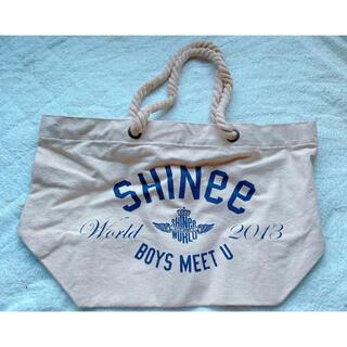 シャイニー(SHINee)の【未使用】SHINee グッズ エコバッグ トートバッグ(ミュージシャン)