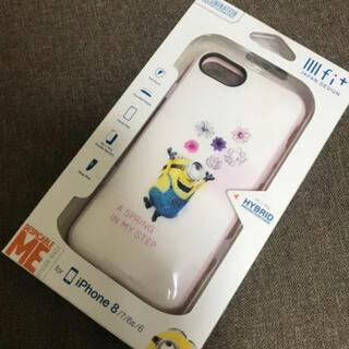 ミニオン(ミニオン)のお花 ミニオンズ イーフィット iPhoneケース スマホケース  ミニオン(iPhoneケース)
