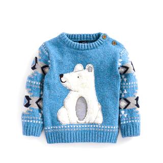 ネクスト(NEXT)のグリーン サンタ トラック - クリスマスセーター (3 か月~7 歳)(ニット/セーター)