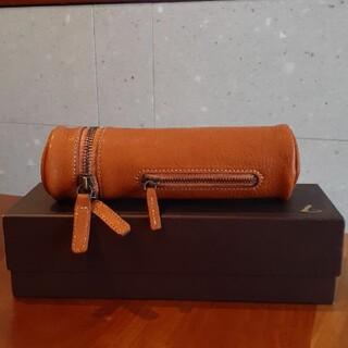 ツチヤカバンセイゾウジョ(土屋鞄製造所)の【未使用】土屋鞄 ドラムペンケース(ペンケース/筆箱)