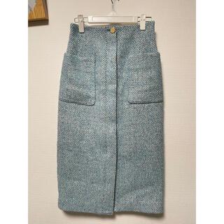 ノーリーズ(NOLLEY'S)のお値下げしました!ノーリーズ ツイードタイトスカート(ひざ丈スカート)