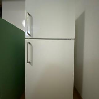 ムジルシリョウヒン(MUJI (無印良品))の冷蔵庫 無印 137L 2ドア 深澤直人デザイン(冷蔵庫)