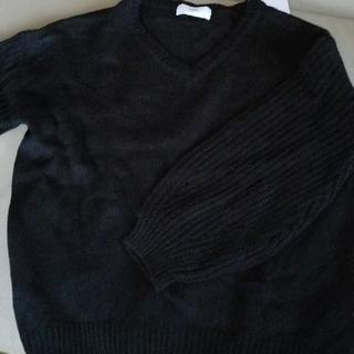 アズール(AZZURE)のAZUL  お袖がぷっくりセーター(ニット/セーター)