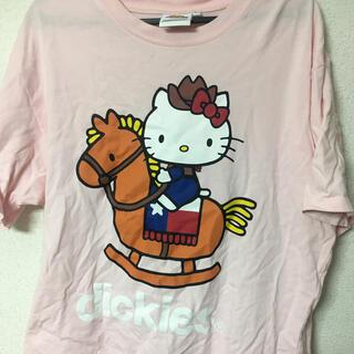 ディッキーズ(Dickies)のディッキーズ ハローキティ コラボTシャツ(Tシャツ/カットソー(半袖/袖なし))