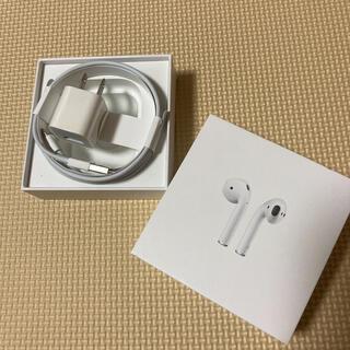 アイフォーン(iPhone)のiPhone Apple 充電器 + ACアダプター(バッテリー/充電器)