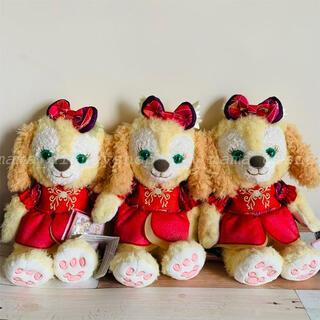 ダッフィー(ダッフィー)の香港ディズニー新商品 15周年記念 クッキーアン ぬいぐるみ(ぬいぐるみ)