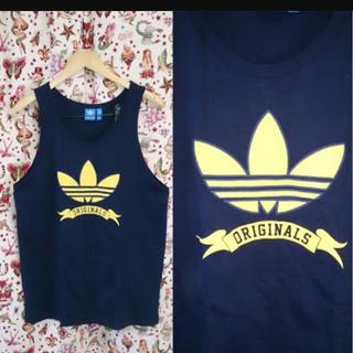 アディダス(adidas)のadidas タンクトップ(Tシャツ/カットソー(半袖/袖なし))