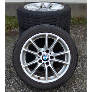 BMW - ■■ BMW純正ホイール4本+225/45R17 94W バリ山美品 ■■