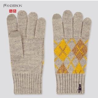 ユニクロ(UNIQLO)のヒートテックニットグローブ XL(手袋)