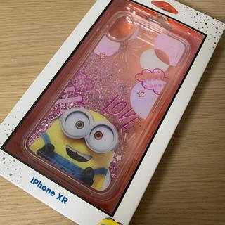 ミニオン(ミニオン)のiPhoneXR ミニオン ボブ ピンク ラメ グリッター iPhoneケース(iPhoneケース)
