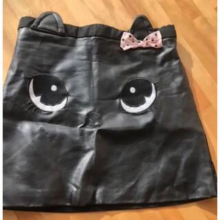 エイチアンドエム(H&M)のH&M キッズレザースカート(スカート)
