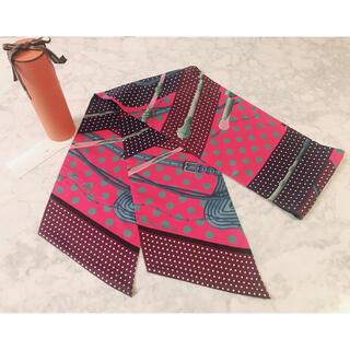 エルメス(Hermes)の美品 エルメス HERMES マキシツイリー スカーフ ツィリー カレ バンダナ(バンダナ/スカーフ)